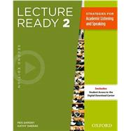 Lecture Ready Student Book 2, Second Edition by , 9780194417280