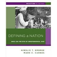 Defining a Nation by Embree, Ainslie T.; Carnes, Mark C., 9780393937282