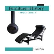 Furniture in History 3000 B.C. - 2000 A.D by Pina, Leslie, 9780132447287