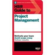 HBR Guide to Project Management- product number 11184-PBK-ENG by Harvard Business Review, 9781422187296