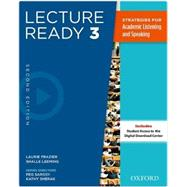 Lecture Ready Student Book 3, Second Edition by , 9780194417297