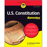 U.s. Constitution for Dummies by Arnheim, Michael, 9781119387299