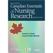 Canadian Essentials of Nursing Research by Loiselle, Carmen G.; Profetto-McGrath, Joanne; Polit, Denise F.; Beck, Cheryl Tatano, 9781605477299
