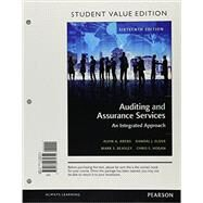 Auditing and Assurance Services, Student Value Edition Plus MyAccountingLab with Pearson eText -- Access Card Package by Arens, Alvin A.; Elder, Randal J.; Beasley, Mark S.; Hogan, Chris E., 9780134417301