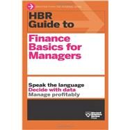 HBR Guide to Finance Basics for Managers by Harvard Business Review, 9781422187302