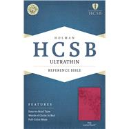 HCSB Ultrathin Reference Bible, Pink LeatherTouch by Holman Bible Staff, 9781586407308