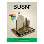 BUSN 9 (with Online Printed Access Card) by Kelly/Williams, 9781305497320