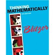 Thinking Mathematically, 6/e by Blitzer, 9780321867322