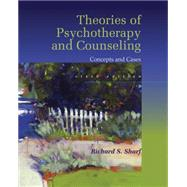 Theories of Psychotherapy & Counseling, 6th Edition by Sharf, 9781305087323