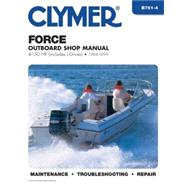 Force Outboard Shop Manual: 4-150 Hp Includes L-Drives 1984-1999 by Clymer, 9780892877324