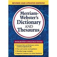 Merriam-Webster's Dictionary and Thesaurus by Merriam-Webster, 9780877797326