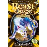 Beast Quest: 40: Madara the Midnight Warrior by Blade, Adam, 9781408307328