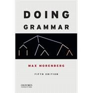 Doing Grammar by Morenberg, Max, 9780199947331