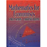 MATH FOR ECON  CL by BLUME,LAWRENCE E., 9780393957334
