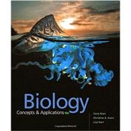 Biology: Concepts and Applications by Starr, 9781305967335
