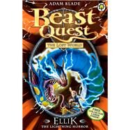 Beast Quest: 41: Ellik the Lightning Horror by Blade, Adam, 9781408307335