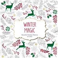Winter Magic: Beautiful Holiday Patterns Coloring Book for Adults by arsEdition, 9781438007335