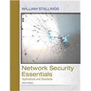 Network Security Essentials Applications and Standards by Stallings, William, 9780134527338