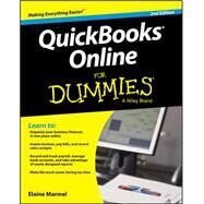 Quickbooks Online for Dummies by Marmel, Elaine, 9781119127338