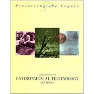 Introduction to Environmental Technology by Boyce, Ann, 9780471287339