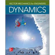 Vector Mechanics for Engineers: Dynamics by Beer, Ferdinand; Johnston, Jr., E. Russell; Cornwell, Phillip; Self, Brian, 9780077687342