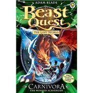 Beast Quest: 42: Carnivora the Winged Scavenger by Blade, Adam, 9781408307342