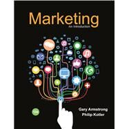 Marketing An Introduction Plus 2017 MyLab Marketing with Pearson eText -- Access Card Package by Armstrong, Gary; Kotler, Philip, 9780134787343