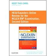 Hesi/Saunders Online Review for the NCLEX-RN Examination Access Code by Silvestri, Linda Anne, 9780323297349