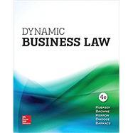 GEN COMBO DYNAMIC BUSINESS LAW; CONNECT ACCESS CARD by Kubasek, Nancy, 9781260087352