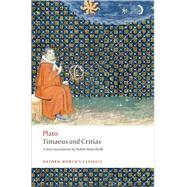 Timaeus and Critias by Plato; Waterfield, Robin; Gregory, Andrew, 9780192807359