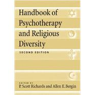Handbook of Psychotherapy and Religious Diversity by Richards, P. Scott, 9781433817359
