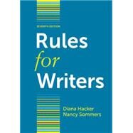 Rules for Writers by Hacker, Diana; Sommers, Nancy, 9780312647360