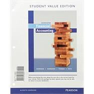 Financial Accounting, Student Value Edition Plus MyLab Accounting with Pearson eText -- Access Card Package by Harrison, Walter T., Jr.; Horngren, Charles T.; Thomas, C. William; Tietz, Wendy M., 9780134417363