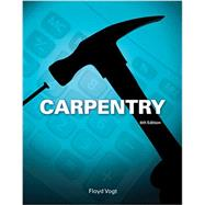 Carpentry by Vogt, Floyd, 9781133607366