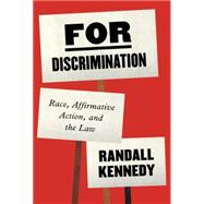 For Discrimination by KENNEDY, RANDALL, 9780307907370