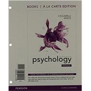 Psychology, Books a la Carte Plus NEW MyPsychLab with eText -- Access Card Package by Ciccarelli, Saundra K.; White, J. Noland, 9780205977376