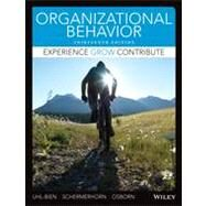 Organizational Behavior by Uhl-Bien, Mary; Schermerhorn, John R., jr.; Osborn, Richard N., 9781118517376