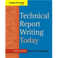 Technical Report Writing Today by Riordan, Daniel, 9781133607380