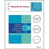 Elementary Differential Equations and Boundary Value Problems by Boyce, William E., 9781118157381