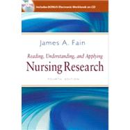 Reading, Understanding, and Applying Nursing Research (Book with CD-ROM) by Fain, James A., Ph.D., R.N., 9780803627383