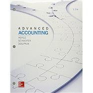 GEN COMBO ADVANCED ACCOUNTING; CONNECT ACCESS CARD by Hoyle, Joe Ben, 9781260087383