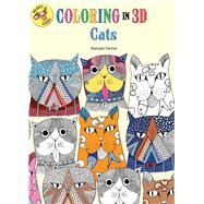 Coloring in 3D Cats by Davies, Hannah, 9781626867383