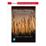 EFFECTIVE WRITING: HANDBOOK FOR ACCOUNTANTS by Unknown, 9780134667386