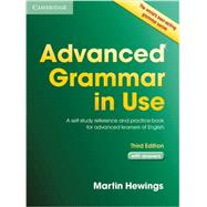 Advanced Grammar in Use Book with Answers by Hewings, Martin, 9781107697386