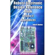 Robust Electronic Design Reference Book by Barnes, John R., 9781402077395