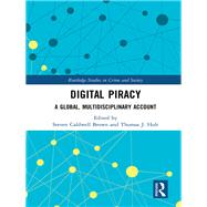 Digital Piracy: A Global, Multidisciplinary Account by Brown; Steven Caldwell, 9781138067400