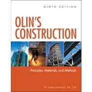 Olin's Construction: Principles, Materials, and Methods Ninth Edition by Simmons, 9780470547403