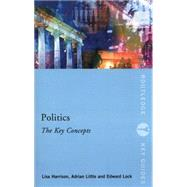 Politics: The Key Concepts by Harrison; Lisa, 9780415497404