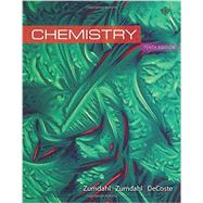 General Chemistry by Zumdahl/Zumdahl, 9781305957404