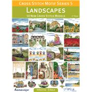 Landscapes: 50 New Cross Stitch Models by Diaz, Maria, 9786055647407